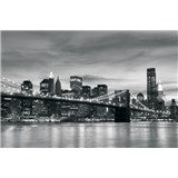 Vliesové fototapety New York City rozměr 208 cm x 146 cm