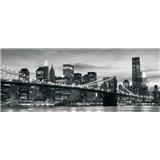 Vliesové fototapety Brooklyn Bridge NY rozměr 250 cm x 104 cm