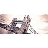 Vliesové fototapety Tower Bridge rozměr 250 cm x 104 cm