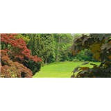 Vliesové fototapety zahrada rozměr 250 cm x 104 cm