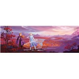 Fototapety Disney Frozen II panorama rozměr 368 cm x 127 cm