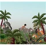 Vliesové fototapety Disney Jungle Book  rozměr 300 cm x 280 cm