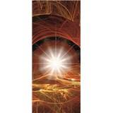 Vliesové fototapety vesmírná hvězda rozměr 91 cm x 211 cm