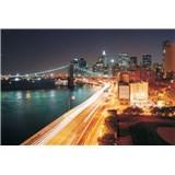 Vliesové fototapety Brooklyn Bridge New York rozměr 312 cm x 219 cm