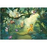 Fototapety Disney Lion King v džungli rozměr 368 cm x 254 cm