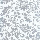 Samolepící tapety - barokní květy 67,5 cm x 15 m