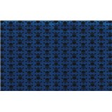 Samolepící tapety lebky modro-černé 45 cm x 15 m