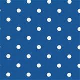 Samolepící tapety puntíky tmavě modré 45 cm x 15 m