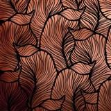 Samolepící fólie listy měděno-černé - 45 cm x 5 m