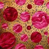 Samolepící fólie DOTS červené - 45 cm x 5 m
