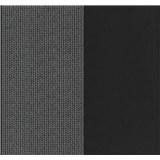 Vliesové tapety na zeď Glamour kolečka stříbrná na černém podkladu