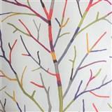 Vliesové tapety na zeď větve stromu barevné