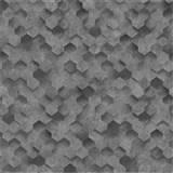 Vliesové tapety na zeď IDEA OF ART plástve šedé