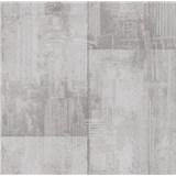 Papírové tapety na zeď It's Me betonové bloky světle hnědé - POSLEDNÍ KUSY
