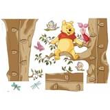 Samolepky na zeď Disney Medvídek Pú rozměr 50 cm x 70 cm