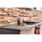 Samolepící tapety za kuchyňskou linku kamenná stěna rozměr 180 cm x 60 cm