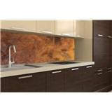 Samolepící tapety za kuchyňskou linku měděný kovový plát rozměr 180 cm x 60 cm