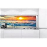 Samolepící tapety za kuchyňskou linku západ slunce na pobřeží rozměr 180 cm x 60 cm