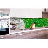 Samolepící tapety za kuchyňskou linku pampelišky rozměr 260 cm x 60 cm