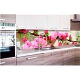 Samolepící tapety za kuchyňskou linku sakura rozměr 260 cm x 60 cm