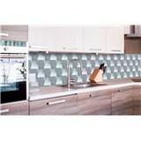 Samolepící tapety za kuchyňskou linku 3D kostky rozměr 260 cm x 60 cm