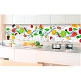 Samolepící tapety za kuchyňskou linku ovoce rozměr 350 cm x 60 cm