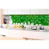 Samolepící tapety za kuchyňskou linku pampelišky rozměr 350 cm x 60 cm