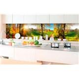 Samolepící tapety za kuchyňskou linku louka rozměr 350 cm x 60 cm
