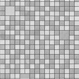 Omyvatelné vinylové tapety na zeď Bravo 3D mozaika šedo-stříbrná