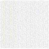 Luxusní vliesové tapety na zeď LACANTARA vlnovky stříbrné na bílém podkladu