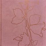 Vliesové tapety na zeď La Veneziana 3 listy bronzové na vínovém podkladu