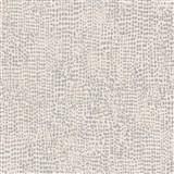 Vliesové tapety na zeď La Veneziana IV tečky černo-stříbrné na krémovém podkladu