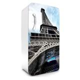 Samolepící tapety na lednici Eiffelova věž rozměr 120 cm x 65 cm