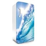 Samolepící tapety na lednici vlny rozměr 120 cm x 65 cm