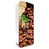 Samolepící tapety na lednici kávová zrnka rozměr 180 cm x 65 cm