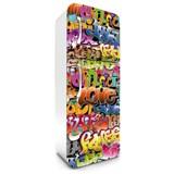 Samolepící tapety na lednici graffiti rozměr 180 cm x 65 cm