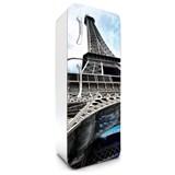 Samolepící tapety na lednici Eiffelova věž rozměr 180 cm x 65 cm