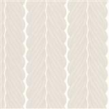 Luxusní vliesové tapety na zeď Colani Legend splétané pruhy hnědé na bílém podkladu
