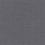 Vliesové tapety na zeď IMPOL Luna textilní struktura černá se stříbrným třpytem