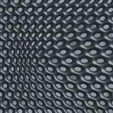 Vliesové tapety na zeď Harmony Mac Stopa moderní 3D vzor šedo-černý