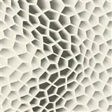 Vliesové tapety na zeď Harmony Mac Stopa 3D plástve šedé