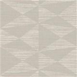 Luxusní vliesové tapety na zeď Madison kubistický vzor světle hnědý s metalickými odlesky