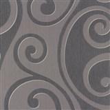 Vliesové tapety na zeď Di Moda Secese modro-fialová