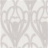 Vliesové tapety IMPOL Mata Hari Art-Deco krémovo-šedé