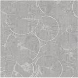 Vliesové tapety na zeď IMPOL Metropolitan Stories struktura v omítce stříbrná na šedém podkladu