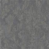 Vliesové tapety na zeď Nabucco zámecký vzor tmavě šedý