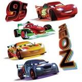 Samolepky na zeď dětské - NEON Cars 30 x 40 cm
