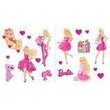 Samolepky na zeď dětské - Barbie 30 x 40 cm