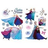 Samolepky na zeď Frozen - sestry navždy rozměr 45 x 65 cm