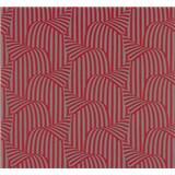 Vliesové tapety na zeď NENA 3D moderní vzor červený